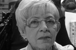 Janina Paradowska nie żyje [Janina Paradowska, fot. Ja Fryta, Agata Duda fot. Michał Józefaciuk CC BY-SA 3.0 Wikimednia Commons]