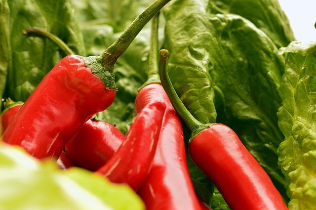 Jedz papryczki chili - tak zwiększysz swoje szanse na długie życie  [fot. Peggy Choucair from Pixabay]