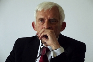 Jerzy Buzek skończył 75 lat [Jerzy Buzek, fot. Piotr Drabik, CC BY 2.0, Wikimedia Commons]