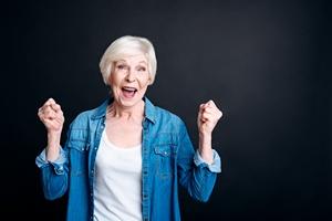 Jeśli chcesz żyć dłużej, stań się optymistką [© Viacheslav Iakobchuk - Fotolia.com]