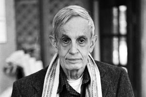 John Nash nie żyje. Noblista zginął w wypadku samochodowym [John Forbes Nash, fot. Peter Badge,Licencja CC BY-SA 3.0, Wikimedia Commons]