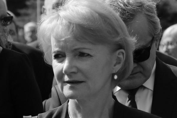 Jolanta Szczypińska nie żyje [Jolanta Szczypińska, fot. Kancelaria Sejmu/Rafał Zambrzycki, CC BY 2.0, Wikimedia Commons]