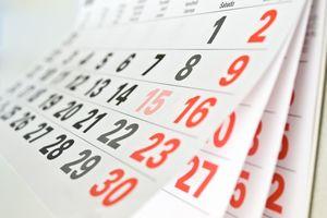 Kalendarz pracownika 2014: Dni wolne za święta przypadające w sobotę [© a_korn - Fotolia.com]
