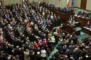 Kanonizacja Jana Pawła II. Sejm i Senat przyjęły specjalne uchwały [fot. Rafał Zambrzycki, Sejm.gov.pl]