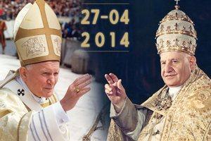 Kanonizacja Jana Pawła II i Jana XXIII [fot. vatican.va]