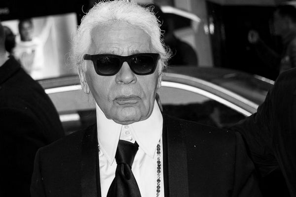 Karl Lagerfeld, fot. Christopher William Adach, CC BY-SA 2.0, Wikimedia Commons