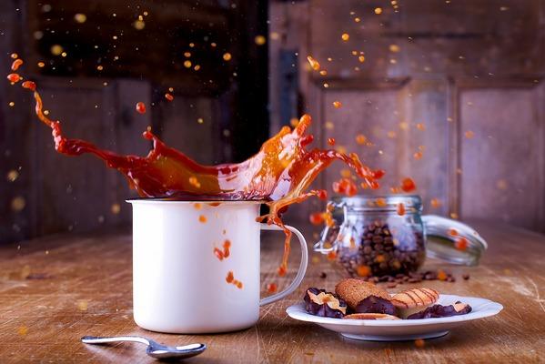Kawa nie dla każdego. Może pogłębić zaburzenia lękowe [fot.  David Mark z Pixabay]
