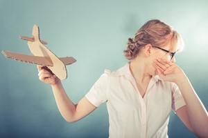 Kiedy boisz się latać. Jak zmniejszyć strach? [© Voyagerix - Fotolia.com]
