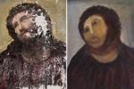 Kobieta, która zniszczyła fresk Martineza, żąda zapłaty [Ecce Homo fot. gawker]