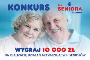 Konkurs dla organizacji aktywizujących seniorów. Najlepsi dostaną 10 tysięcy złotych [fot. Adamed]