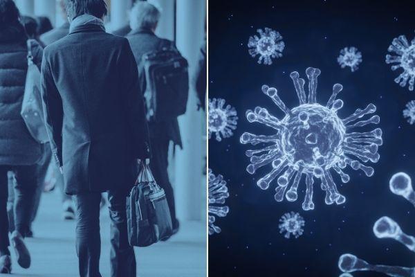 Koronawirus: wolny chód wskaźnikiem zagrożenia śmiercią z powodu COVID-19 [fot. collage Senior.pl / Canva]
