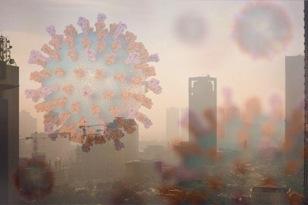 Koronawirus: zanieczyszczenie powietrza zwiększa śmiertelność? [fot. collage Senior.pl / Canva]