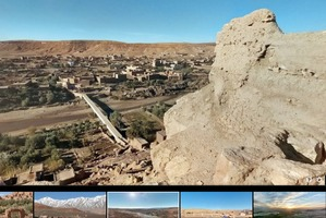 Kultowe seriale w Google Street View [fot. Google]