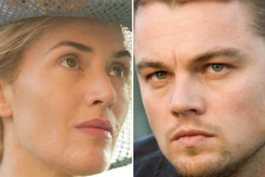 Leonardo DiCaprio, fot. Siebbi, CC BY 3.0, Kate Winslet fot. BBC Films