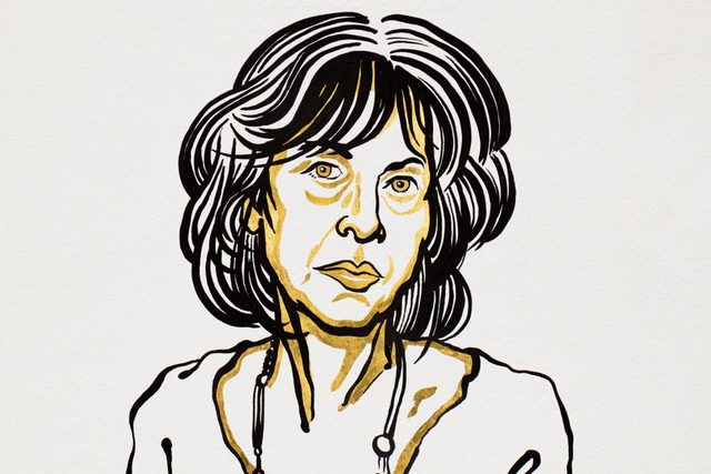 Literacki Nobel 2020 dla poetki Louise Glück [fot. Ill. Niklas Elmehed. © Nobel Media.]