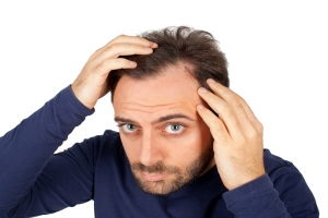 Łysienie młodych mężczyzn oznacza wyższe ryzyko chorób serca [Fot. Antonio Gravante - Fotolia.com]