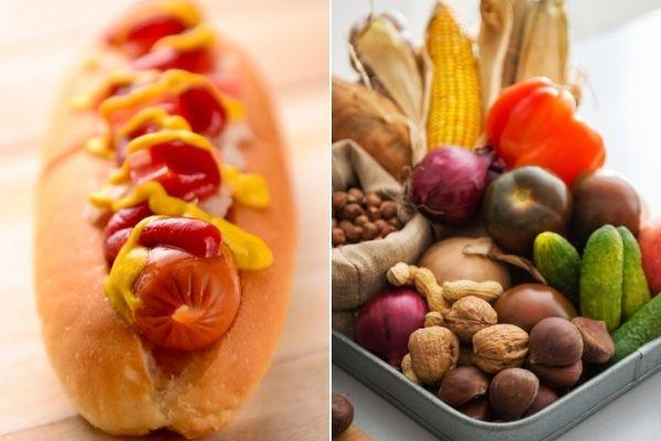 Małe zmiany w diecie poprawią zdrowie [fot. collage Senior.pl / Canva]
