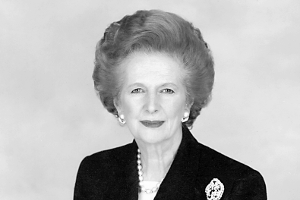 Margaret Thatcher, fot.  Chris Collins, CC BY-SA 3.0 Wikimedia Commons