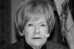 Maria Czubaszek nie żyje [Maria Czubaszek, fot. Grzegorz Gołębiowski, CC BY-SA 4.0, Wikimedia Commons]