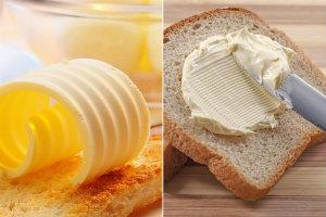 Masło czy margaryna? Fałszywy dylemat [fot. collage Senior.pl]