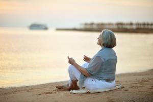 Medytacja uważności pomaga oslabić zaburzenia snu [Fot. aletia2011 - Fotolia.com]