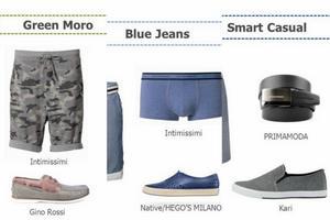 Męskie trendy - niezbędnik na lato 2014 [fot. Aliganza Fashion Agency]