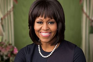 Michelle Obama, fot. Official White House Photo by Chuck Kennedy, PD