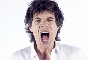 Mick Jagger fot. Virgin