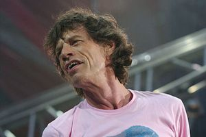 Mick Jagger, fot. Kronos, CC BY-SA 3.0, Wikimedia Comons