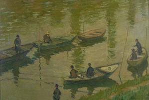 Monet w wiedeńskim muzeum Belweder [fot. Claude Monet]