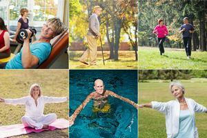 Najlepsza aktywność fizyczna dla ludzi dojrzałych i starszych [fot. collage Senior.pl]