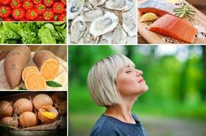 Najlepsza dieta dla włosów - pięć polecanych produktów [fot. collage Senior.pl]