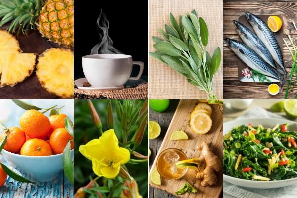 """Najlepsze """"jedzenie przeciwbólowe"""" [fot. collage Senior.pl]"""
