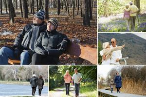 Nie siedź w domu. Zobacz, dlaczego warto wyjść na przechadzkę [fot. collage Senior.pl]