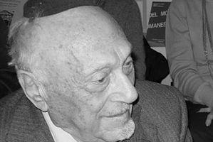 Nie żyje Elio Toaff, słynny rabin Rzymu [Elio Toaff, fot. Mario De Siati, CC BY-SA 3.0, wikimedia Commons]
