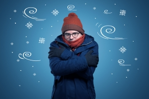 Niska temperatura w mieszkaniu sprzyja nadciśnieniu? [Fot. ra2 studio - Fotolia.com]