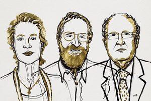 Nobel z chemii 2018 - za wykorzystanie zasad ewolucji w badaniach chmicznych [fot. Nobel Prize]