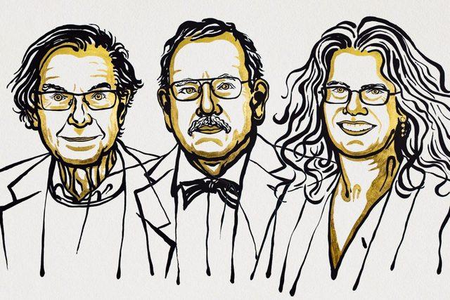Nobel z fizyki 2020 za odkrycia dotyczące czarnych dziur [fot. noble prize]