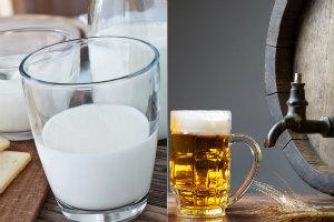 Nowa witamina anti-aging  znaleziona w m. in. w mleku i... piwie [© SergioET - Fotolia.com]