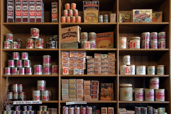 Nowy sposób na walkę z otyłością - ćwiczenia spisane na etykietach jedzenia [fot. Emphyrio z Pixabay]
