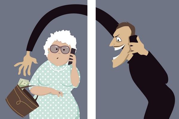 """Nowy wariant metody """"na wnuczka"""": Oszuści podają się za CBŚ i wyłudzają pieniądze [© aleutie - Fotolia.com]"""