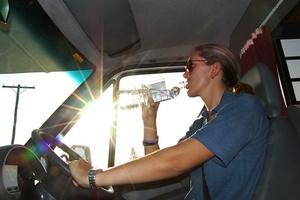 Odwodniony za kierownic� tak niebezpieczny, jak pijany [© hapa7 - Fotolia.com]