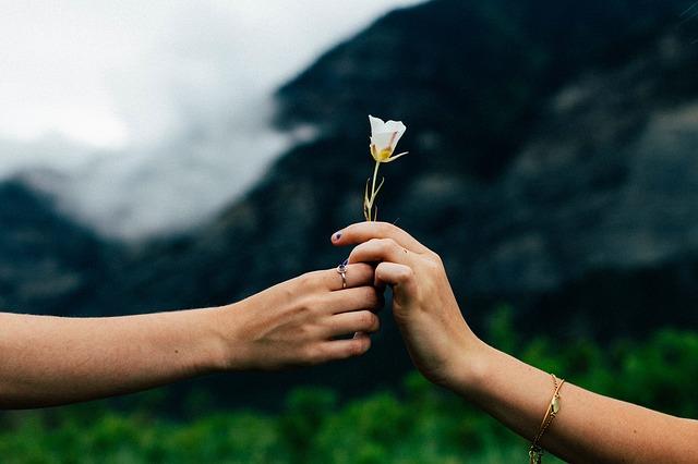 Okaż życzliwość partnerowi. To poprawi też twoje samopoczucie  [fot. StockSnap from Pixabay]
