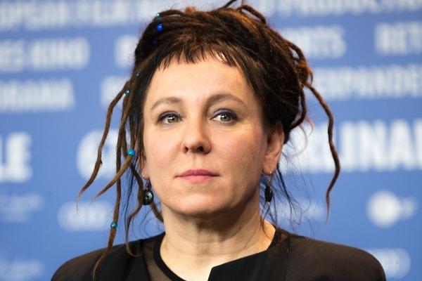 Olga Tokarczuk z Literacką Nagrodą Nobla [Olga Tokarczuk, fot. Martin Kraft, CC BY-SA 3.0, Wikimedia Commons]