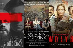 """Orły 2017: """"Wołyń"""" i """"Ostatnia rodzina"""" walczą o statuetki [fot. collage Senior.pl]"""