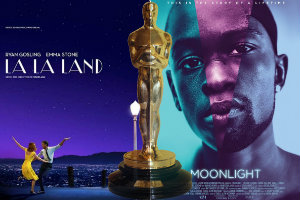 "Oscary 2017:  ""La La Land"" i ""Moonlight"" triumfują [fot. collage Senior.pl]"