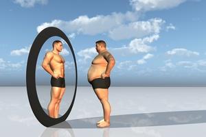 Otyli zaprzeczają swojej otyłości [© rolffimages - Fotolia.com]