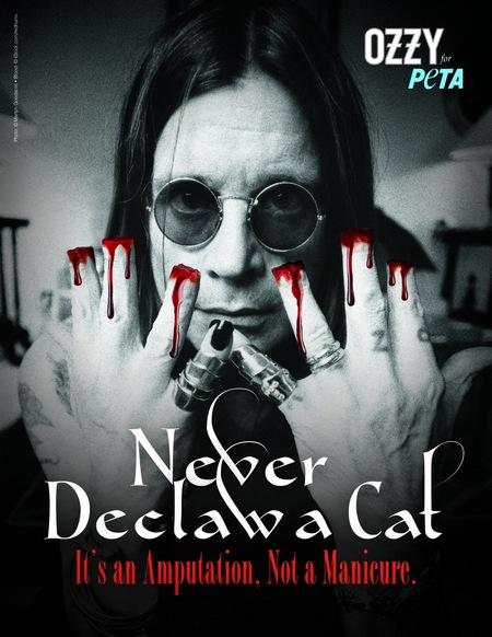 Ozzy Osbourne fot. PETA