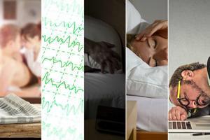 Pięć dziwacznych zaburzeń snu [fot. collage Senior.pl]