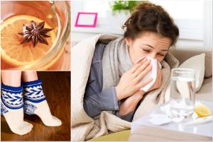 Pięć nietypowych (ale skutecznych) sposobów na przeziębienie [fot. collage Senior.pl]